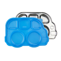 Innobaby: Aqua Heat Stainless Steel Container - Blue