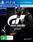 Gran Turismo Sport Day One Edition for PS4