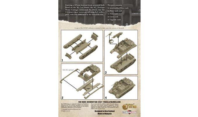 TANKS: American Priest Tank image