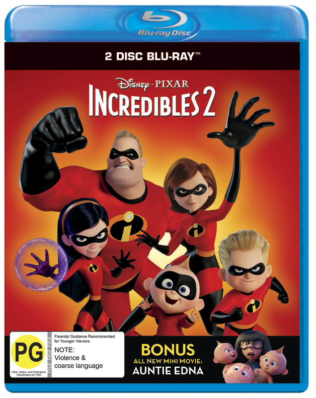 Incredibles 2 on Blu-ray