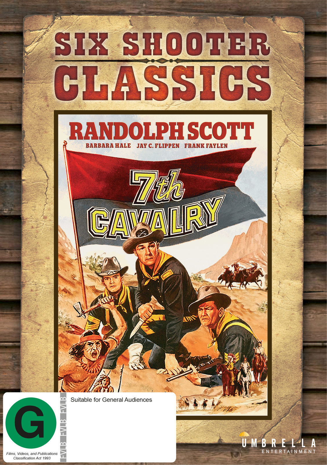 7th Cavalry (Six Shooter Classics) on DVD image