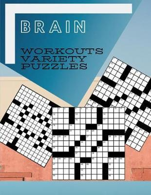 Brain Workouts Variety Puzzles by Samurel M Kardem image