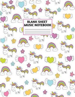 Blank Sheet Music Notebook by Xander Jensen Music