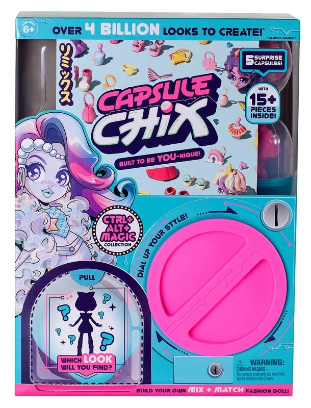 Capsule Chix: Single Surprise Doll - Ctrl+Alt+Magic (Blind Box)