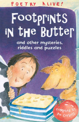 Footprints in the Butter: ..And Other Riddles, Mysteries and Puzzles by Pie Corbett image