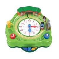Thomas & Friends: Busy Time Thomas Clock image