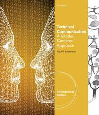 Technical Communication by Paul Anderson