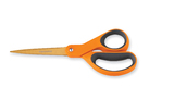 "Fiskars 8"" Titanium Scissors - Orange"
