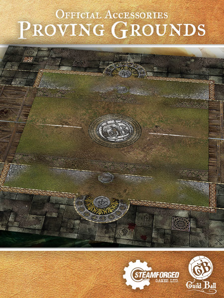 Guild Ball Neoprene Play Mat Proving Grounds At Mighty