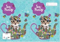 Spencil: 1B5 Book Cover - Flutterby Cat