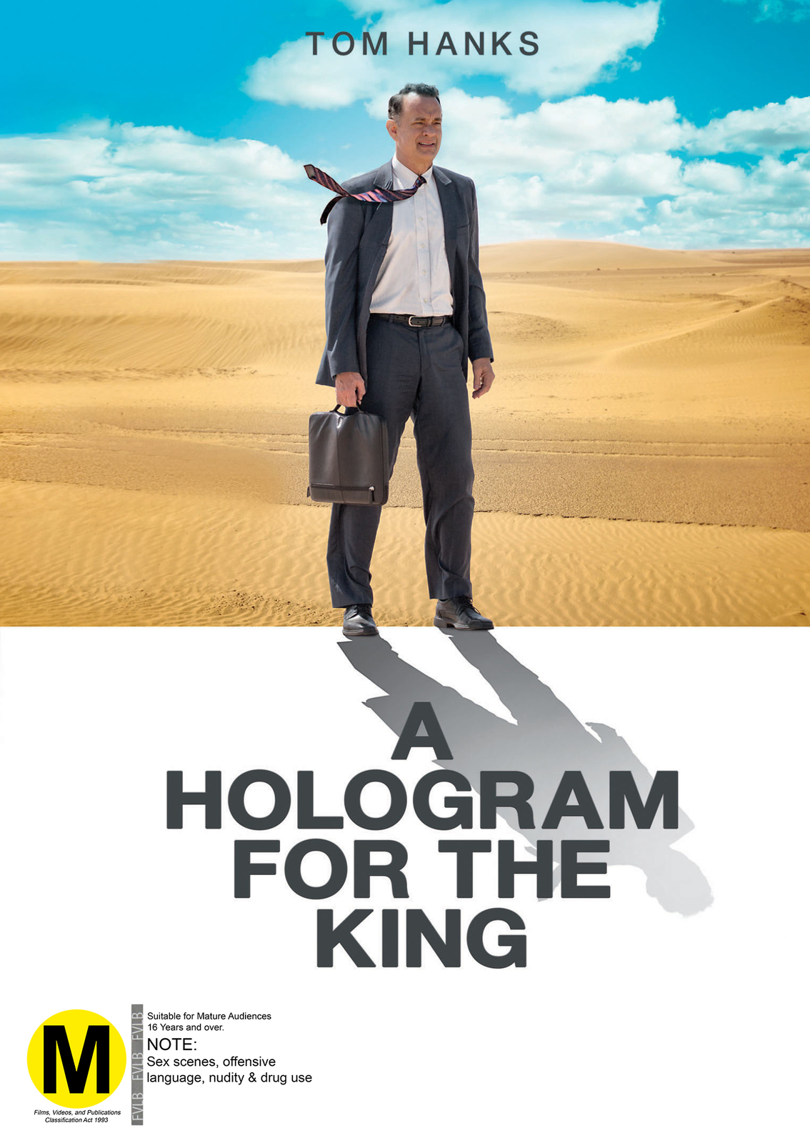 A Hologram For The King on DVD image