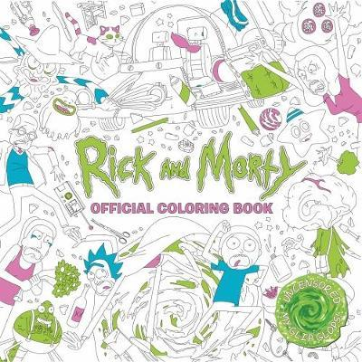 Rick and Morty Official Coloring Book by Titan Books image