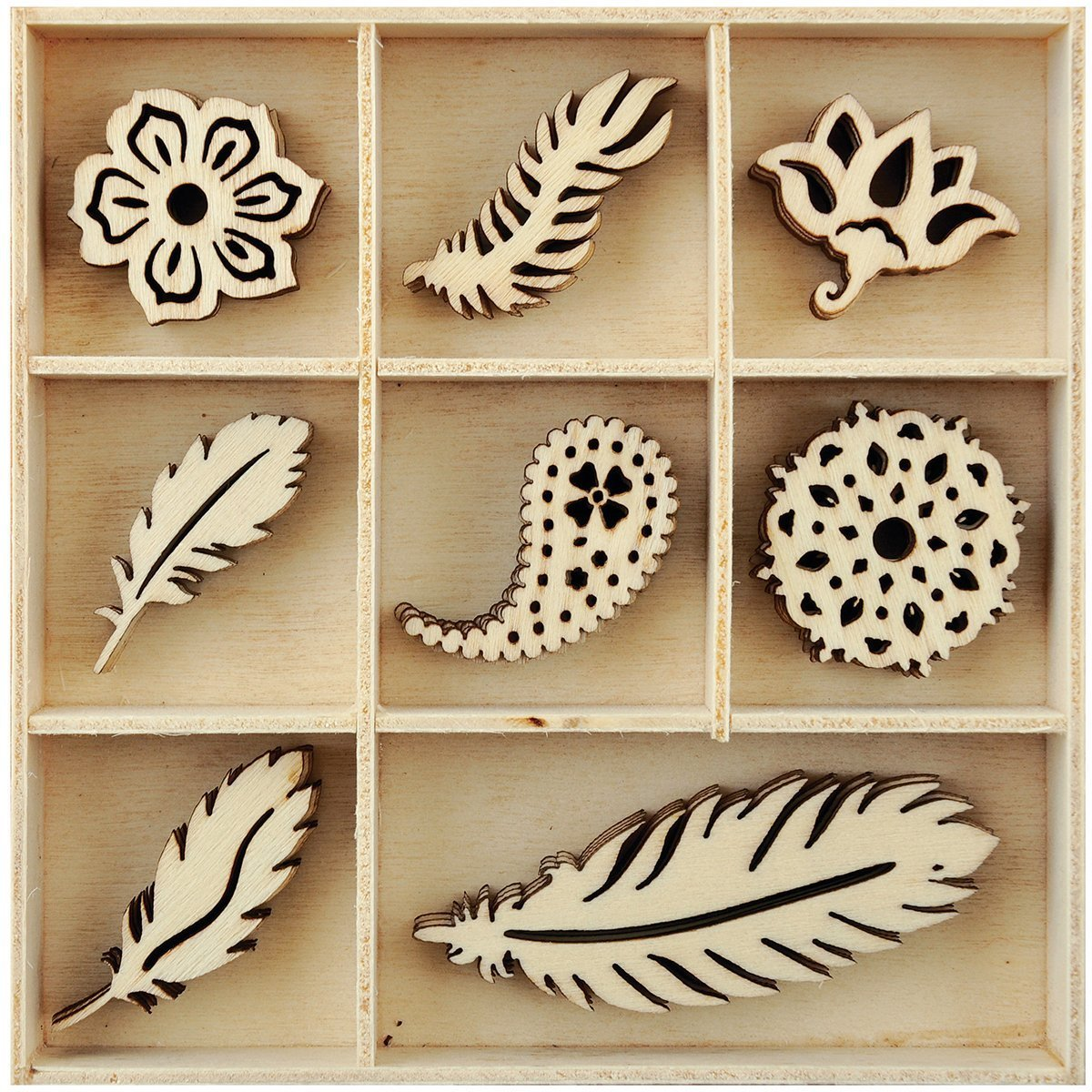 Kaisercraft: Flourish Pack - Feather image
