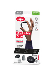 Sugru: Mouldable Glue - Family-Safe Formula - Black, White & Grey (3-pack)