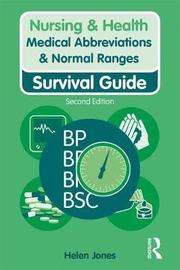 Medical Abbreviations & Normal Ranges by Helen Jones