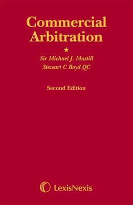 Commercial Arbitration by Michael J. Mustill image