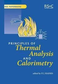 Principles of Thermal Analysis and Calorimetry image