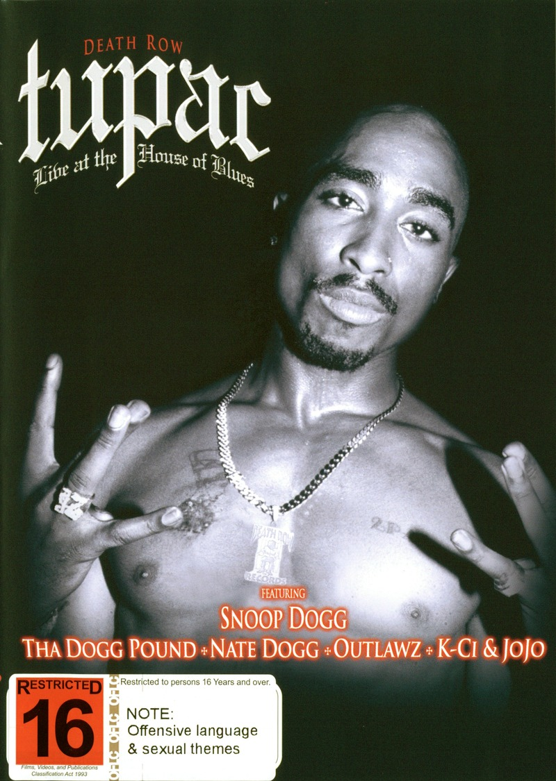 Tupac: Live at The House of Blues on  image
