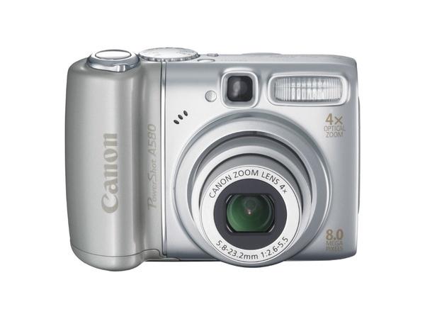 Canon A580 8Mp 4x Optical Zoom Digital Camera