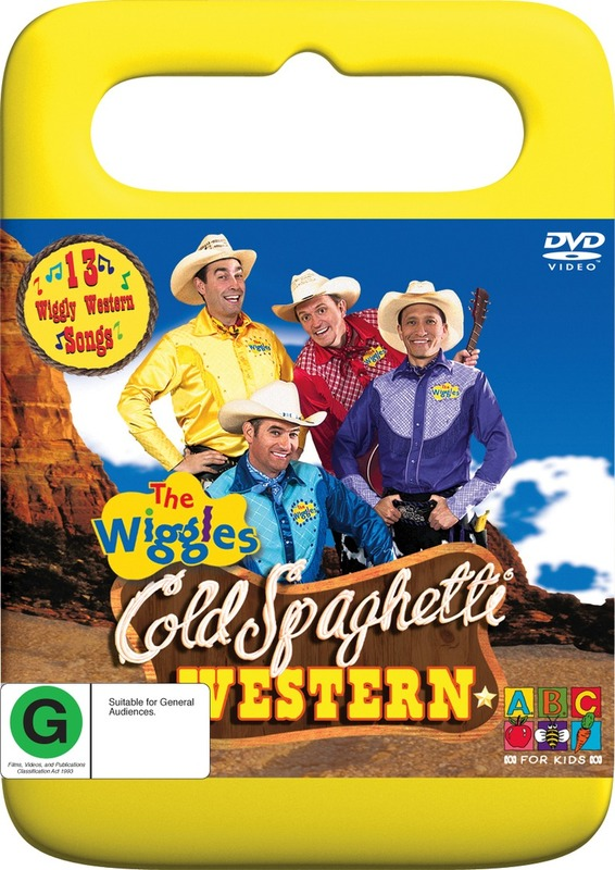 The Wiggles - Cold Spaghetti Western on DVD