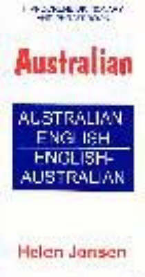 Australian Dictionary and Phrasebook by Helen Jonsen