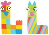 Tatiri Alphabet Letter Crazy Animal - L