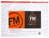 FM PVC Data Wallet A3 (Clear)