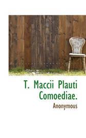 T. Maccii Plauti Comoediae. by * Anonymous image