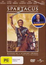Spartacus on DVD