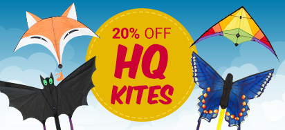 20% off HQ Kites!