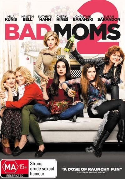 Bad Moms 2 on DVD image
