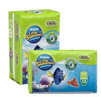 Huggies Little Swimmers Swimpants - 2 Pack Bundle - Small 7-12kg (2x12)