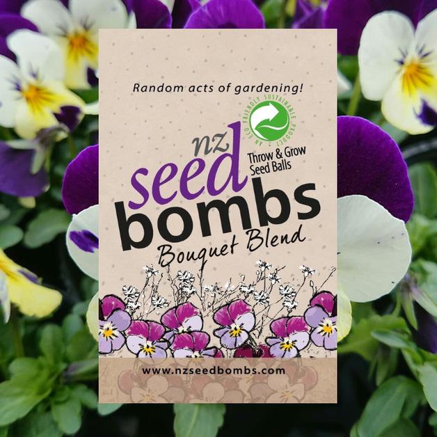 NZ Seed Bombs - Bouquet Blend