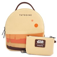 Loungefly: Star Wars - Tatooine Limited Edition Mini Backpack with Pouch