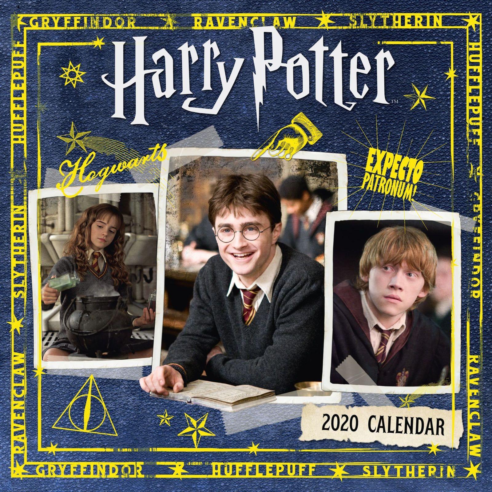 Harry Potter 2020 Square Wall Calendar image
