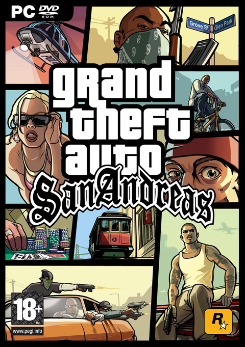 Grand Theft Auto: San Andreas for PC Games
