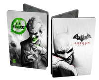 Batman Arkham City (Steelbook Batman/Joker Face Edition) (ex-display) for X360