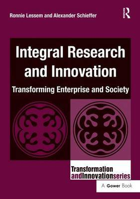 Integral Research and Innovation by Ronnie Lessem image