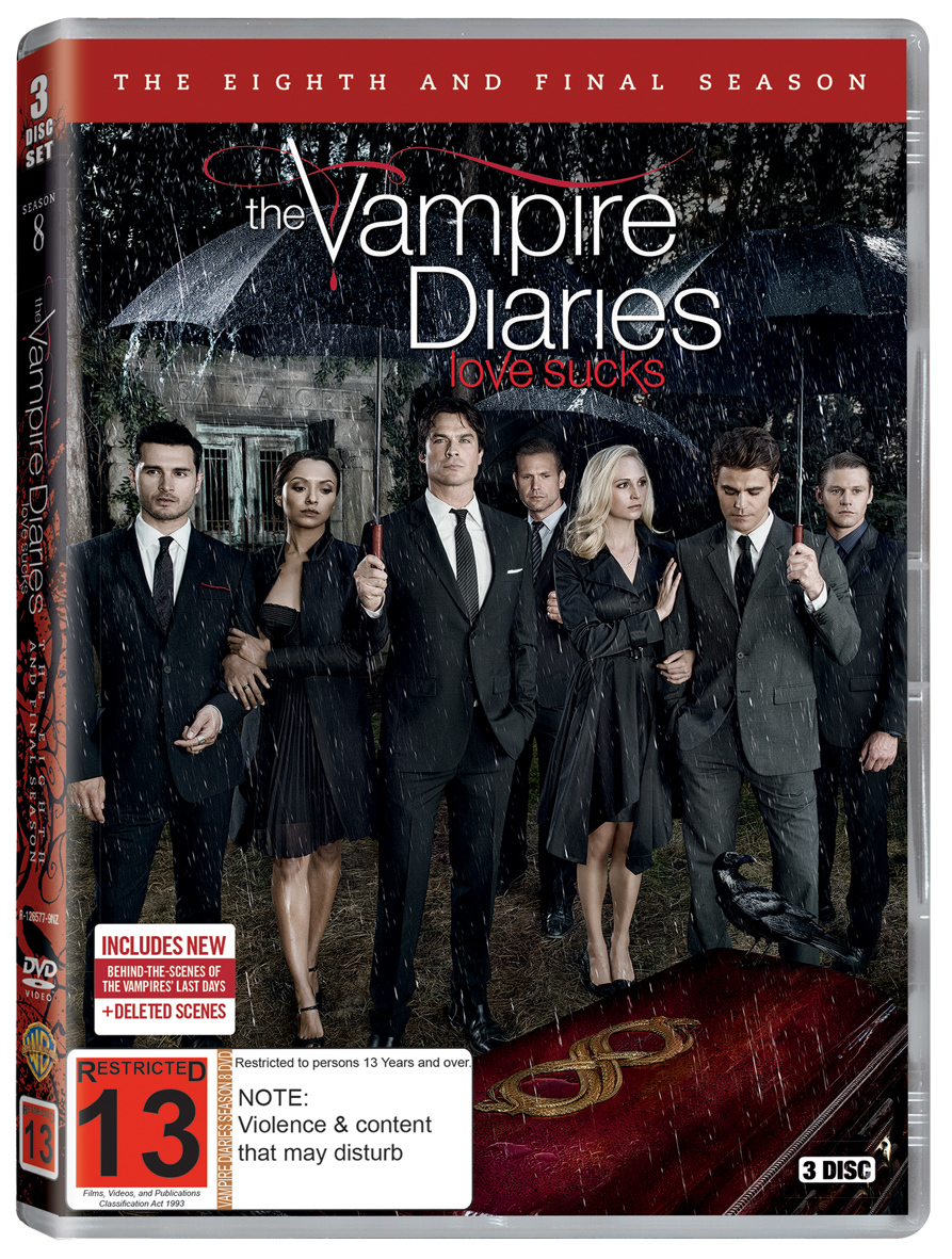 Vampire Diaries - The Complete Eighth and Final Season on DVD image