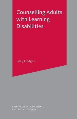 Counselling Adults with Learning Disabilities by Sally Hodges image