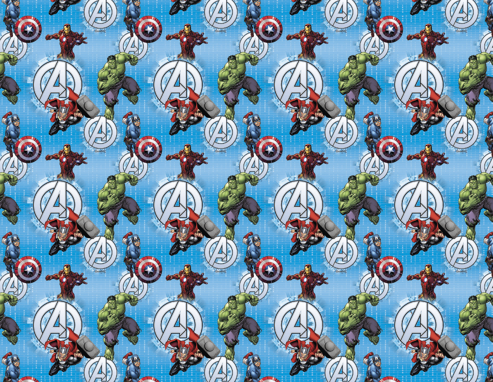 Marvel Avengers Book Covering (1m) image