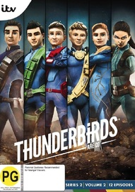 Thunderbirds Are Go: Series 2 - Volume 2 on DVD image