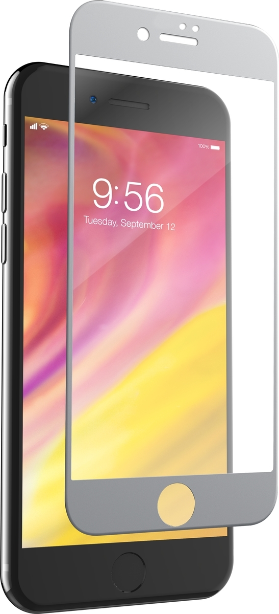 Invisible Shield Glass Curve - Apple iPhone 8/7 - Screen - White image