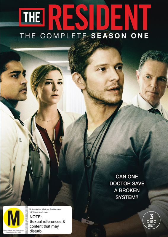 The Resident: Season 1 on DVD