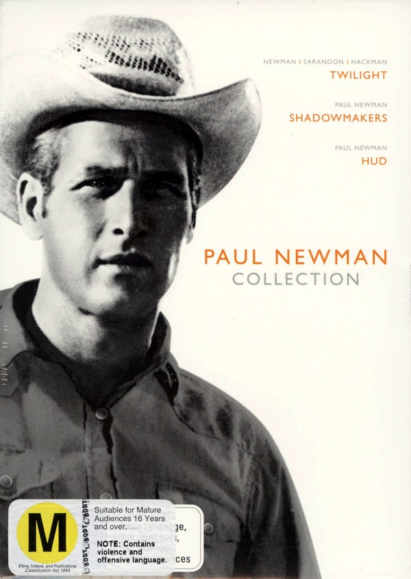 Paul Newman Collection (Twilight / Shadow Makers / Hud) (3 Disc Box Set) on DVD image