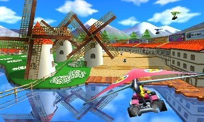 Mario Kart 7 screenshots, Screenshot 6 of 9
