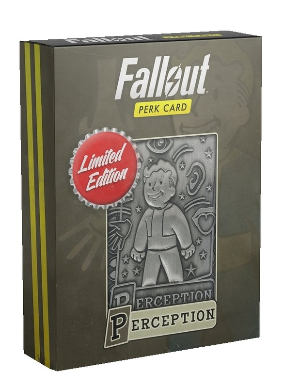 Fallout: Replica Perk Card - Perception