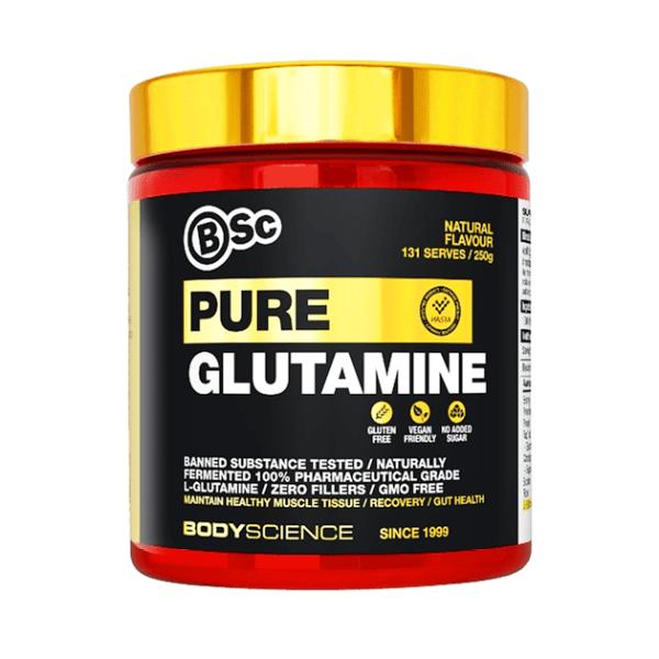 BSc Pure Glutamine (250g)