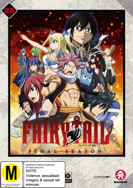 Fairy Tail: Final Season - Collection 25 (Eps 304-316) on DVD