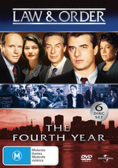 Law & Order - The 4th Year (6 Disc Slimline Set) on DVD